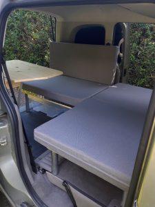 La Malle du Campeur, véhicules aménagés à l'aide de kits amovibles adaptés à tout type de véhicule