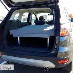 Lit et matelas - La Malle du Campeur, véhicules aménagés à l'aide de kits amovibles adaptés à tout type de véhicule