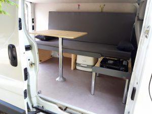 La Malle du Campeur, solutions d'aménagements de véhicules, type fourgon ou van, dans les Pyrénées