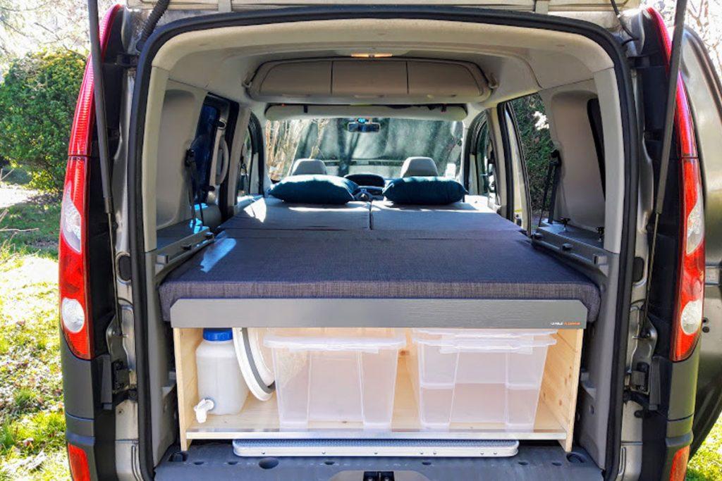 Location de Kit Aménagement de Fourgon et Van - Transporter - Jumpy - Expert - Trafic